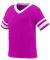Augusta Sportswear 362 Toddler Sleeve Stripe Jerse POWER PINK/ WHT
