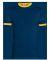 Augusta Sportswear 711 Youth Ringer T-Shirt NAVY/ GOLD