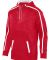 Augusta Sportswear 5555 Youth Stoked Tonal Heather RED/ WHITE
