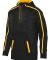 Augusta Sportswear 5555 Youth Stoked Tonal Heather BLACK/ GOLD