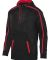 Augusta Sportswear 5555 Youth Stoked Tonal Heather BLACK/ RED
