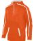 Augusta Sportswear 5555 Youth Stoked Tonal Heather ORANGE/ WHITE
