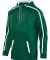 Augusta Sportswear 5555 Youth Stoked Tonal Heather DARK GREEN/ WHT