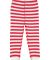 Rabbit Skins 202Z Baby Rib Toddler Pajama Pants RED WHT STR/ WHT