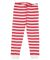 Rabbit Skins 202Z Baby Rib Toddler Pajama Pants Red-White Stripe/ White