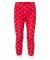 Rabbit Skins 202Z Baby Rib Toddler Pajama Pants RED WHT DOT/ WHT