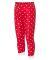 Rabbit Skins 202Z Baby Rib Toddler Pajama Pants Red & White Dot