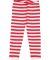 Rabbit Skins 102Z Baby Rib Infant Pajama Pants RED WHT STR/ WHT