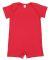 Rabbit Skins 4486 Infant Premium Jersey T-Romper RED