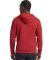 Next Level Apparel 9303 Unisex Pullover Hood RED