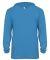 Badger Sportswear 2105 B-Core Long Sleeve Youth Ho Electric Blue