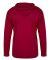 Badger Sportswear 2105 B-Core Long Sleeve Youth Ho Red