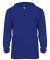 Badger Sportswear 2105 B-Core Long Sleeve Youth Ho Royal