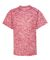 Badger Sportswear 2191 Blend Youth Short Sleeve T- Red