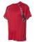 Badger Sportswear 4140 Digital Camo Hook T-Shirt Red