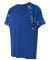 Badger Sportswear 4140 Digital Camo Hook T-Shirt Royal