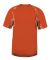 Badger Sportswear 2142 Static Youth Hook T-Shirt Burnt Orange/ Burnt Orange Static