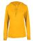 Badger Sportswear 4165 B-Core L/S Women's Hood Tee Gold