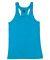 Badger Sportswear 2166 B-Core Girls' Racerback Tan Electric Blue
