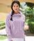 J America 8684 Women's Lounge Fleece Hi-Low Hooded Pullover Catalog