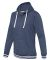 J America 8651 Relay Women's Hooded Pullover Sweat Navy