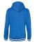 J America 8651 Relay Women's Hooded Pullover Sweat Royal