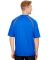 A4 Apparel N3001 Men's Spartan Short Sleeve Color  ROYAL/ GRAPHITE