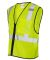 ML Kishigo 1519-1520 Class 2 Economy Vest with Zip Lime