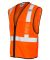 ML Kishigo 1519-1520 Class 2 Economy Vest with Zip Orange