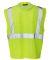 ML Kishigo 1532-1533 Clear ID Vest with Zipper Clo Lime
