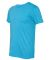 BELLA+CANVAS 3413 Unisex Howard Tri-blend T-shirt AQUA TRIBLEND