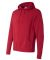 Independent Trading Co. - Hooded Pullover Sweatshi Red Heather