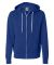 Independent Trading Co. - Unisex Full-Zip Hooded S Cobalt