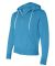 Independent Trading Co. - Unisex Full-Zip Hooded S Turquoise