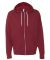 Independent Trading Co. - Unisex Full-Zip Hooded S Currant