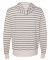 Independent Trading Co.PRM90HTZ Unisex French Terr Oatmeal Heather/ Salt & Pepper Stripe