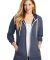 District Clothing DT456 District    Women's Perfect Tri    French Terry Full-Zip Hoodie Catalog