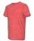Adidas Golf Clothing A372 Tech Tee Collegiate Red Heather
