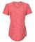 Adidas Golf Clothing A373 Women's Tech Tee Collegiate Red Heather