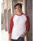 Jerzees 560RR Premium Blend Ringspun Three-Quarter Sleeve Raglan Baseball T-Shirt Catalog