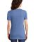 Jerzees 88WVR Women's Snow Heather Jersey V-Neck Royal