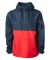 Independent Trading Co. EXP54LWP Lightweight Windb Classic Navy/ Red