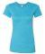 BELLA 6004 Womens Favorite T-Shirt HEATHER AQUA