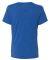 BELLA 6405 Ladies Relaxed V-Neck T-shirt TR ROYAL TRIBLND
