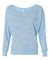 BELLA 8850 Womens Long Sleeve Dolman Top BLUE MARBLE
