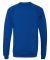 BELLA+CANVAS 3901 Unisex Sponge Fleece Sweatshirt TRUE ROYAL