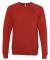 BELLA+CANVAS 3901 Unisex Sponge Fleece Sweatshirt BRICK