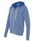 BELLA+CANVAS 3909 Unisex Tri-blend Sponge Fleece Z BLUE TRIBLEND