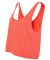 BELLA 8880 Womens Cropped Tank Crop Top CORAL