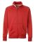 J. America - Vintage Track Jacket - 8858 Red/ White